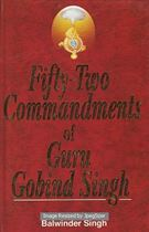 Picture of Fifty Two Commandments Of Guru Gobind Singh