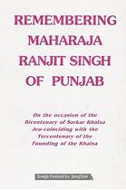 Picture of Remembering Maharaja Ranjit Singh Of Punjab