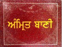 Picture of Amrit Bani (Shabdan di pothi, Size 185mm X 137mm, Rexine binding)