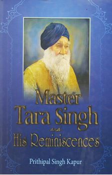 Picture of Master Tara Singh and His Reminiscences