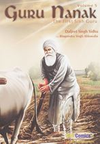 Picture of Guru Nanak (The First Sikh Guru) (Vol. 5)