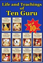 Picture of The Life and Teachings of Ten Guru (10 Vols.)