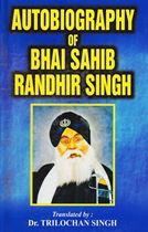 Picture of Autobiography Of Bhai Sahib Randhir Singh