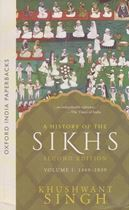 Picture of A History of the Sikhs (Vol. 1)
