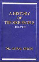 Picture of A History of The Sikh People (1469-1988)