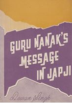 Picture of Guru Nanak's Message in Jap ji