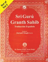 Picture of Sri Guru Granth Sahib (Spanish) 2 Vols.
