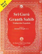 Picture of Sri Guru Granth Sahib (Spanish) 2 Vols.